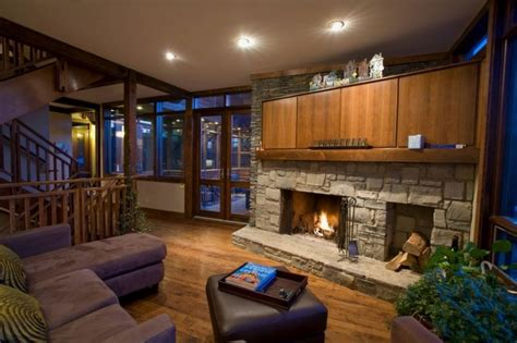 interior and exterior home design fireplaces of modern house with sophisticated interior and