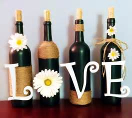 wine bottle home decor 15 beautiful bottle decoration ideas you can create easily