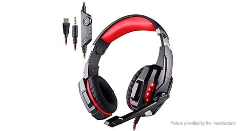 Headset Gaming Kotion Each G3100 With Audio 35mm Led Vibration 1 23 12 kotion each g9000 3 5mm usb wired gaming headset authentic w microphone at fasttech