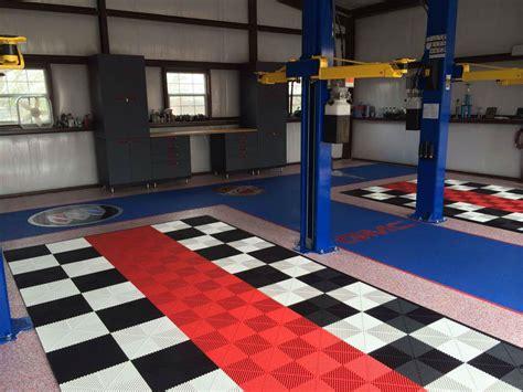 ribtrax garage flooring swisstrax garage flooring