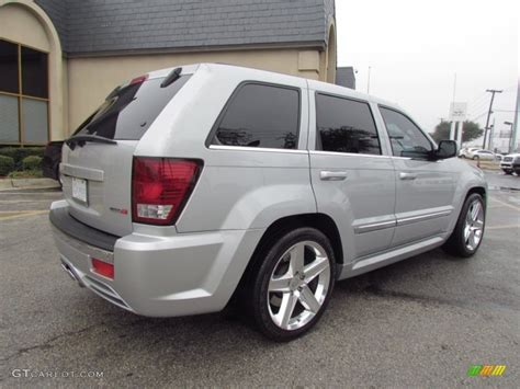silver jeep grand cherokee bright silver metallic 2007 jeep grand cherokee srt8 4x4