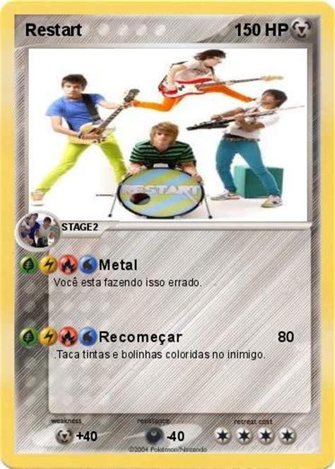 pokemon black reset game pok 233 mon restart metal my pokemon card
