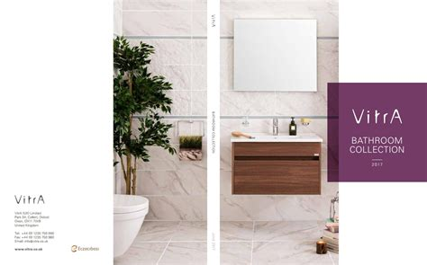 vitra bathrooms catalogue vitra product catalogue by ideal bathrooms issuu