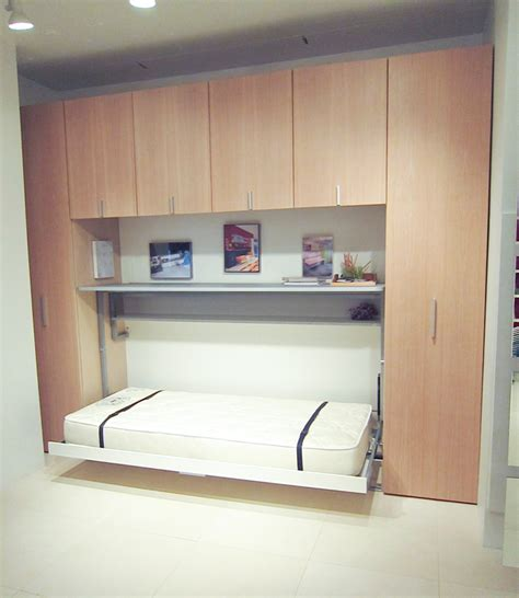 Murphy Beds bed desk combos save space and add interest to small rooms
