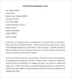 Sle Of Resignation Letter For Nurses by Resignation Letter Template 25 Free Word Pdf Documents Free Premium Templates