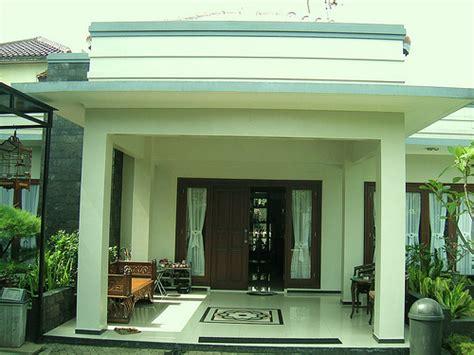 contoh teras rumah minimalis modern gambar