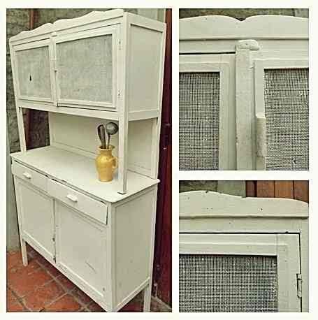 mueble de cocina alacena aparador antiguo vintage de