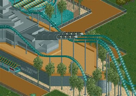 linear induction coaster lim launched roller coaster rollercoaster tycoon