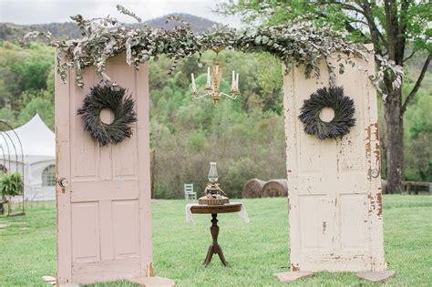 Wedding Arches Diy Vintage Door Wedding Arch