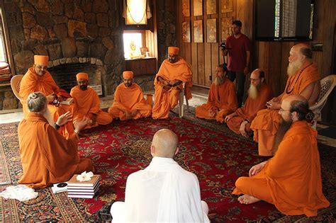 baps sadhus visit kauai hindu monastery hawaii north america