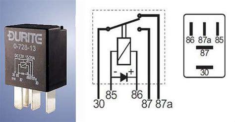 durite relay wiring diagram 27 wiring diagram images