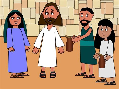 Wedding At Cana Animation by Free Bible Images When The Wine Runs Out At A Wedding