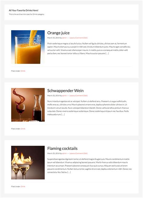 custom category template wordpress 28 images template
