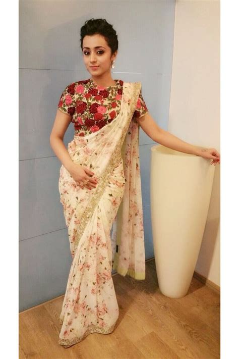 flower design sarees sarees floral print saree sarees pinterest saree