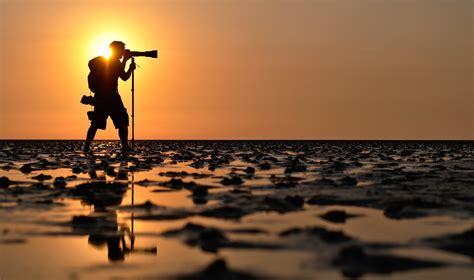 photographer photography landscape water sun sunset