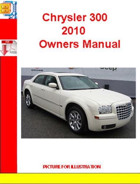 best car repair manuals 2010 chrysler 300 instrument cluster chrysler 300 2010 owners manual download manuals technical