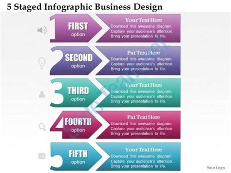 free infographic templates for powerpoint 0514 business consulting diagram 5 staged infographic