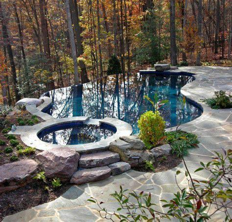 Backyard Infinity Pools Best 25 Infinity Pool Backyard Ideas On Infinity Pools Pools And Pool With