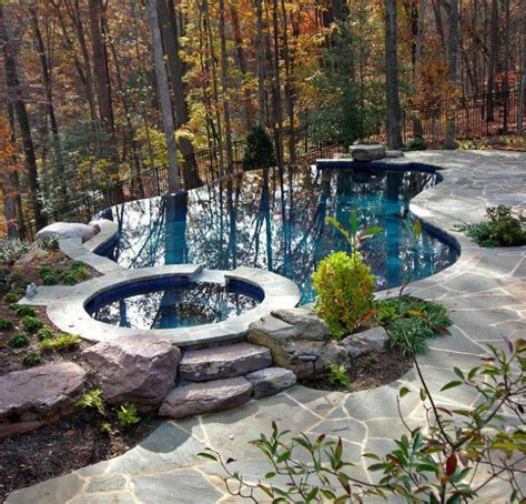 backyard infinity pools best 25 infinity pool backyard ideas on pinterest