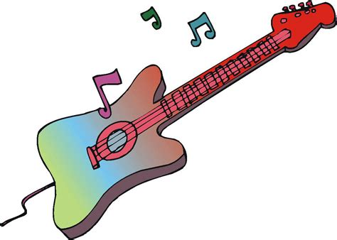 Rock And Roll Guitar rock and roll guitar clip clipart panda free