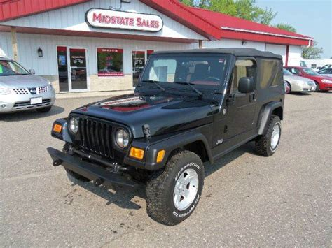 2006 Jeep For Sale 2006 Jeep Wrangler Unlimited For Sale Cargurus