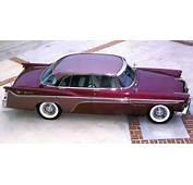 1956 DeSoto Fireflite Sportsman 4 Door Hardtop Burgandy Top Sv  Cars