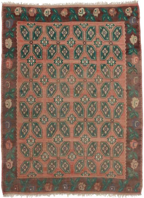10 X 10 Turkish Kilim Rugs - vintage turkish kilim 7 x 10 area rug 3439