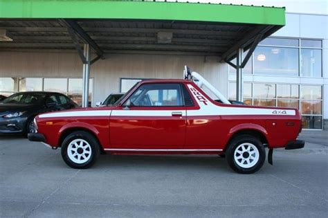 hemmings find of the day 1986 subaru brat gl hemmings subaru brat for sale hemmings motor news