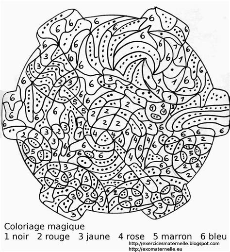 Coloriage Magique A Imprimer Pour Adulte Liberate