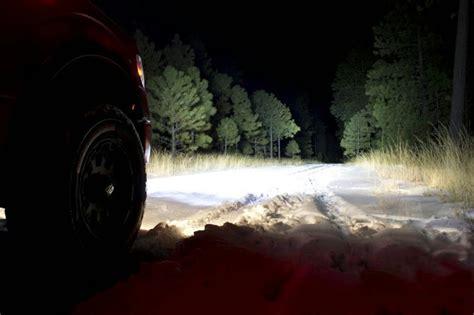 led light bar at night ford ranger off road lighting the ranger station
