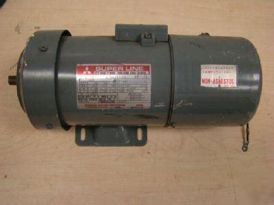 induction motor sf jr mitsubishi model sf jr 200w 4pole induction motor