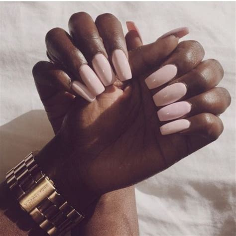 nail color for african women midnight sun rising brownglucose because dark skinned