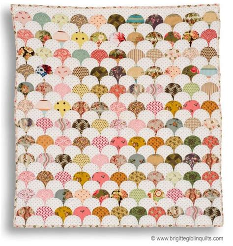 Clamshell Patchwork - baby clamshell quilt patchwork