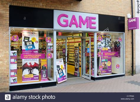 Shop Gamis computer gaming shop fitzroy cambridge uk stock photo royalty free