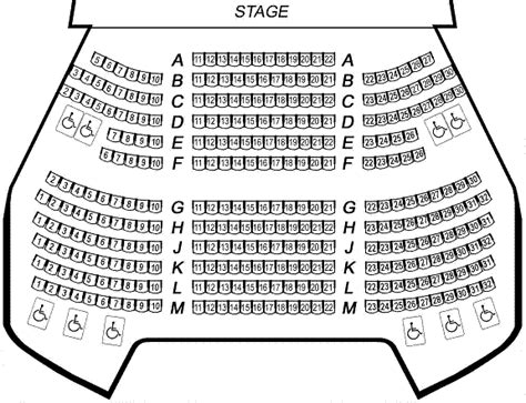 massey theatre seating chart seating maps city of albuquerque