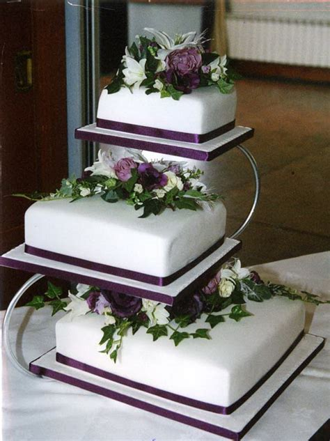 pin wedding cakes30 cake on pinterest 3 tier purple wedding cakes wedding cake toppers