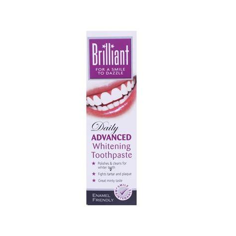toothpaste whitening brilliant daily advanced whitening toothpaste 100 ml 163 1 45