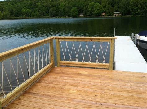cantilevered deck awesome cantilevered deck and nautical railing place on