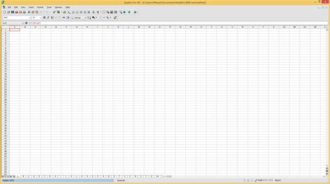 Corel Spreadsheet by Corel Quattro Pro File Extensions