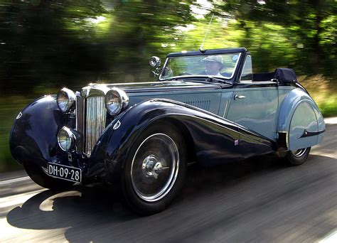 Ta Search Park Ward Mg Ta Drophead Coupe Symphony 1936