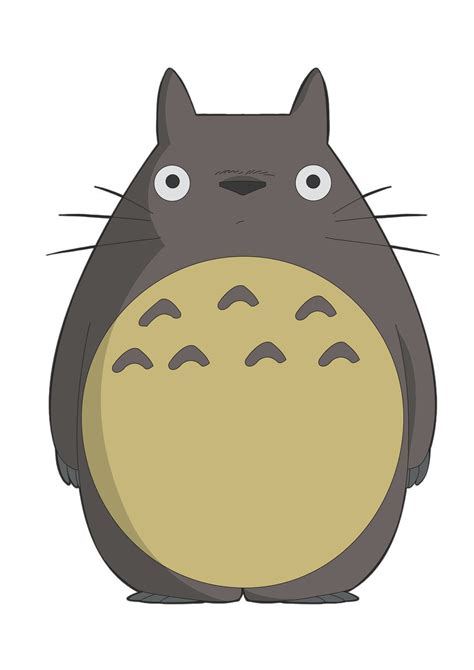 imagenes kawaii de totoro pin totoro outline picture to pinterest description from
