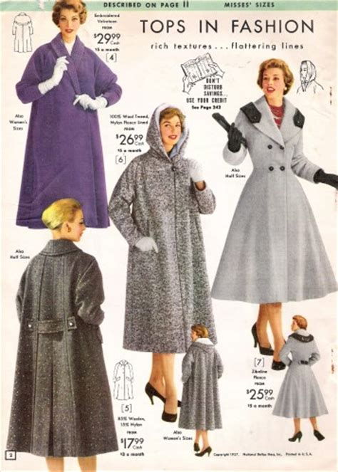50s swing fashion 1950s coats and jackets history