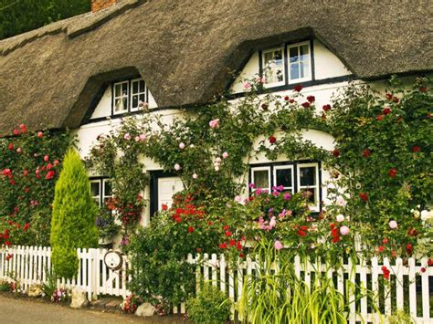 english cottage house wallpaper desk english garden wallpaper