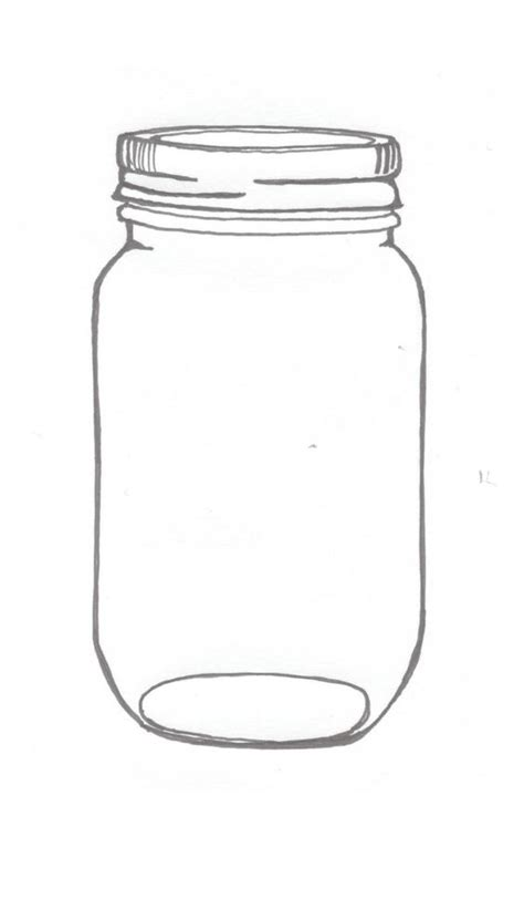what is a jar free jar tempplates an ink drawing of a jar