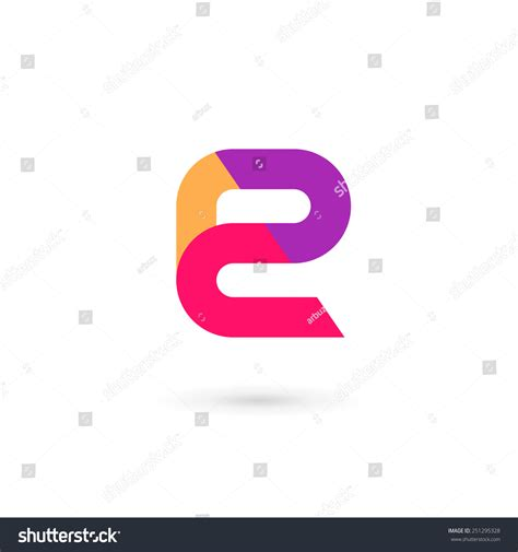 e design letter e logo icon design template stock vector 251295328