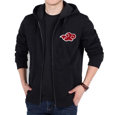 Jaket Hoodie Zipper Akatsuki popular akatsuki hoodie buy cheap akatsuki hoodie lots