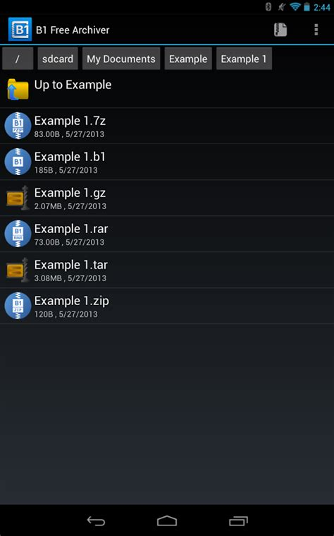 unzip files android b1 archiver zip rar unzip android apps on play