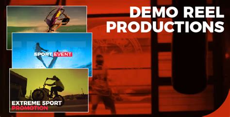 demo reel productions special events envato videohive