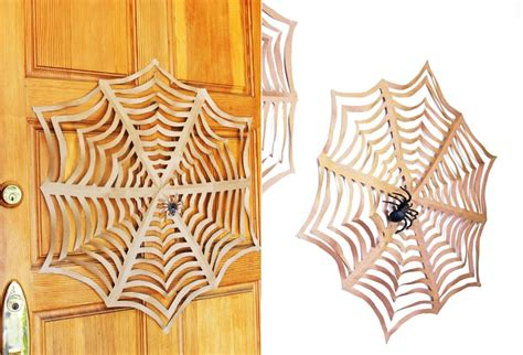 Spider Web Origami - decorating ideas diy origami spider webs homecrux