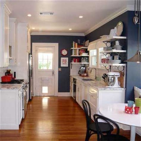 white and blonde wood kitchen blue feature wall interior best kitchen before and afters 2010